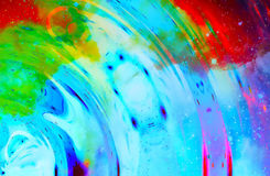 Cosmic space and stars, color cosmic abstract background. Stock Photo