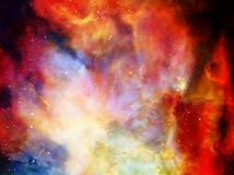 Cosmic space and stars, color cosmic abstract background. Cosmic space and stars, color cosmic abstract background Royalty Free Illustration