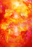 Cosmic space and stars, color cosmic abstract background. Fire effect in space. Cosmic space and stars, color cosmic abstract background. Fire effect in space Royalty Free Stock Photography