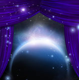 Cosmic Stage Stock Image