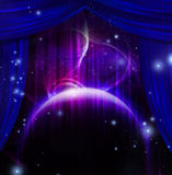 Cosmic Stage Royalty Free Stock Images
