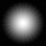 Cosmic starburst stock image