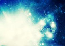 Cosmic starburst Royalty Free Stock Image