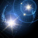Cosmic Stars Background Royalty Free Stock Image