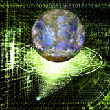 The cosmic technology Stock Images