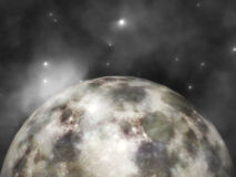 Cosmic Visualization Royalty Free Stock Image