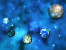 Cosmic Visualization Royalty Free Stock Images