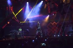 Cosmo在音乐会的阶段执行5月一日 免版税库存照片