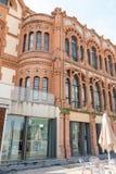 Cosmo Caixa, een wetenschapsmuseum in Barcelona, Catalonië, S wordt gevestigd dat Royalty-vrije Stock Fotografie