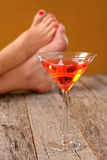 Cosmo drink adult beverage Royalty Free Stock Images