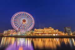 Cosmo world at Yokohama royalty free stock photo