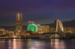 Cosmo zegaru 21 Duży koło przy Cosmo Światowym parkiem tematycznym, punkt zwrotny Holowniczy obrazy royalty free