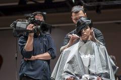 COSMOBELLEZA 2014, XAVI GARCIA SHOW Royalty Free Stock Photos