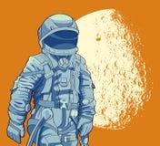 cosmonaut Royalty-vrije Stock Afbeeldingen