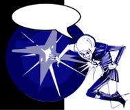 Cosmonaut cartoon Royalty Free Stock Photo