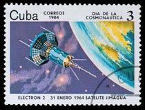 Cosmonautics ημέρα στοκ φωτογραφία με δικαίωμα ελεύθερης χρήσης