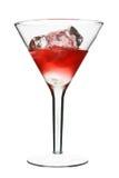 Cosmopolita - coctel alcohólico rojo Fotografía de archivo