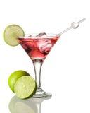 Cosmopolitan cocktail. Isolated on white Stock Photo