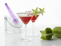 Cosmopolitan cocktail drink Royalty Free Stock Images