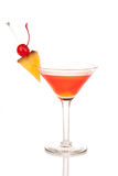 Cosmopolitan cocktail in martini glass Royalty Free Stock Image