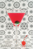Cosmopolitan cocktail. In nice red color Royalty Free Stock Image