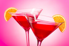 Cosmopolitan Cocktail stock photography