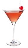 Cosmopolitan cocktail. On white background Stock Image