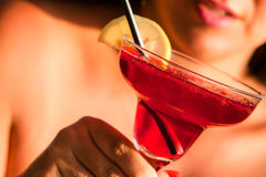 Cosmopolitan cocktail Royalty Free Stock Images
