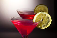 Cosmopolitan Coctail Royalty Free Stock Images