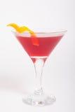 Cosmopolitan drink. Cosmopolitan alcohol cocktail drink in a glass stock photos