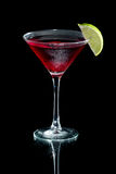 Cosmopolitan martini Stock Photography