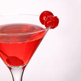 Cosmopolitan martini fresh Coctail isolated on white Royalty Free Stock Photo