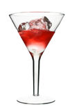 Cosmopolitan - Red Alcoholic Cocktail Stock Photography