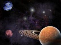 Cosmos Ilustración del Vector