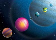 Cosmos. Beautiful space cosmos imagination illustration vector illustration