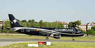 Cosmos Airlines, Airbus 320 Stock Photography