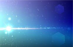 Cosmos big bang realistic vector vector illustration