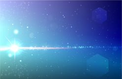 Cosmos big bang realistic vector illustration stock illustration