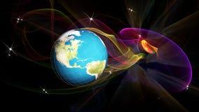 Cosmos da pesquisa Tecnologia do Internet da globalização Imagem de Stock Royalty Free