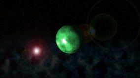 Cosmos da terra ilustração stock