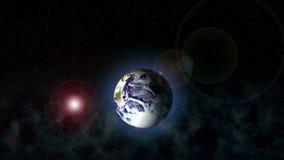 Cosmos de la tierra ilustración del vector