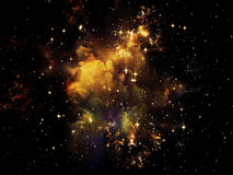 Cosmos dentro imagens de stock