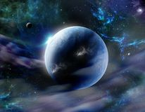 Cosmos fantástico ilustración del vector