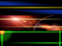 Cosmos lights Banners Royalty Free Stock Images