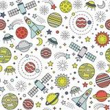 Cosmos pattern Royalty Free Stock Photos