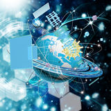 Cosmos technology Royalty Free Stock Images