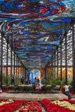Cosmovitral di Toluca mexico Fotografie Stock