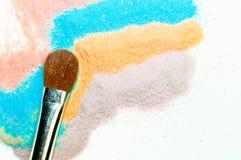 Cosméticos del maquillaje Foto de archivo