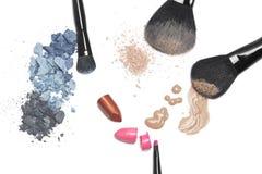 Cosmétiques pour le maquillage Photographie stock libre de droits