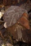 coso刻在岩石上的文字范围 免版税图库摄影
